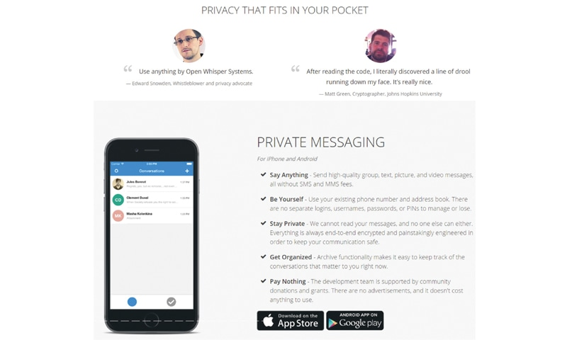 Secure messaging apps - Newspaper - DAWN COM