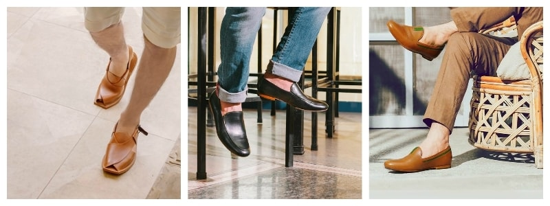 Markhor's range of shoes — Photographs courtesy Markhor's Facebook page