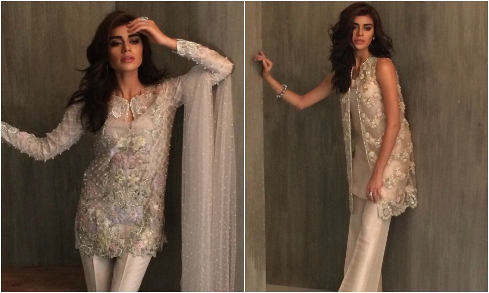The Eden collection is geared towards a nude and grey palette —Photo courtesy: www.elan.pk