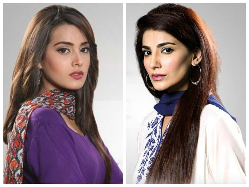 The slighted Sajal and the empowered Emaan will cut a contrast that challenges the love triangle cliche — Publicity photos