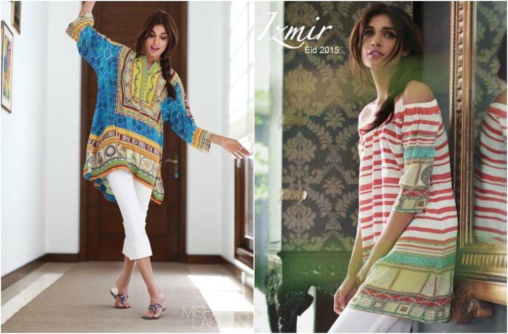 Amna Ilyas embodies the girl next door while modeling Misha's bright, summery pieces. —Photo courtesy: Misha Lakhani's Official Facebook page