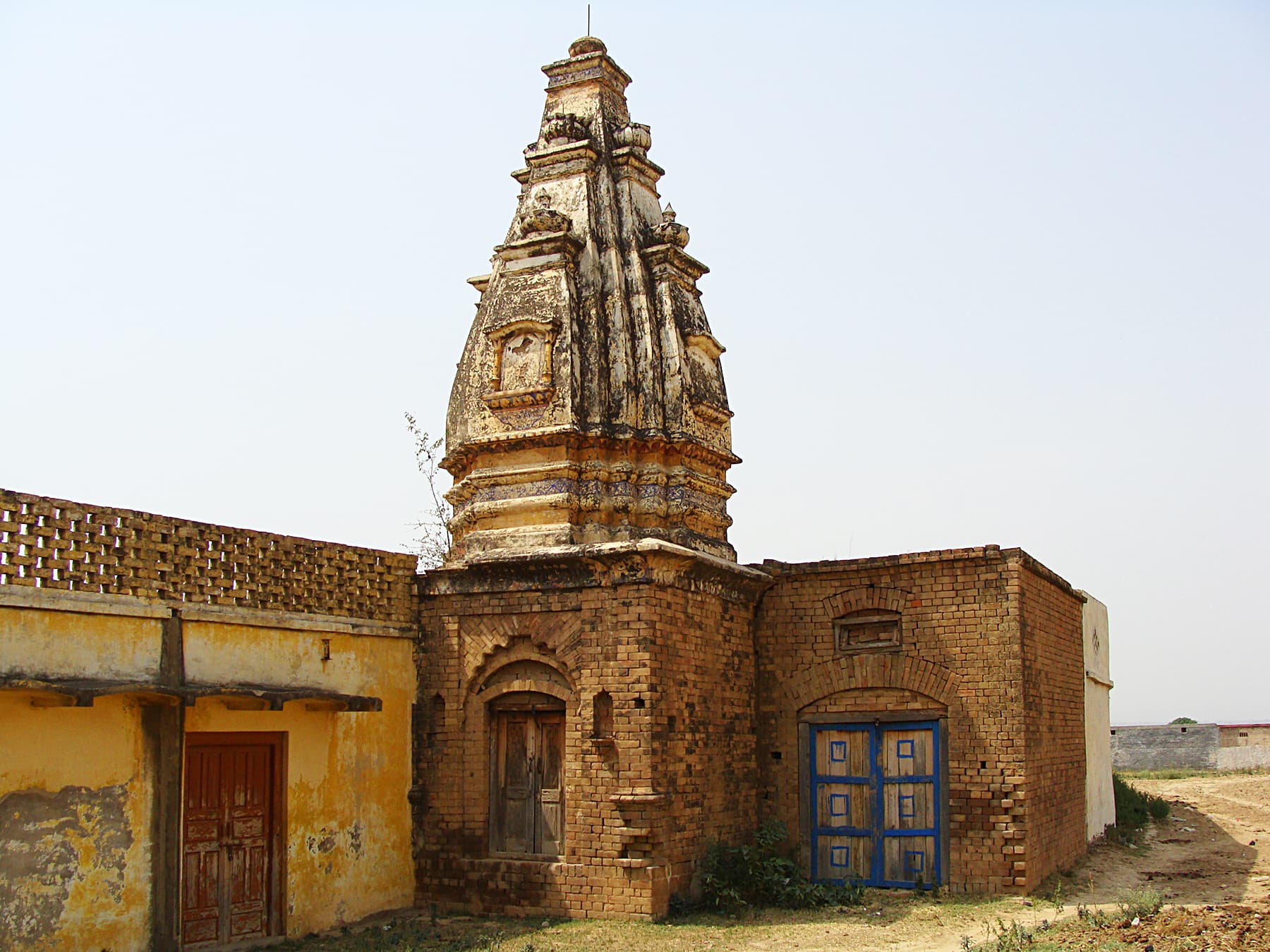 The Mohra Bhatta Temple.