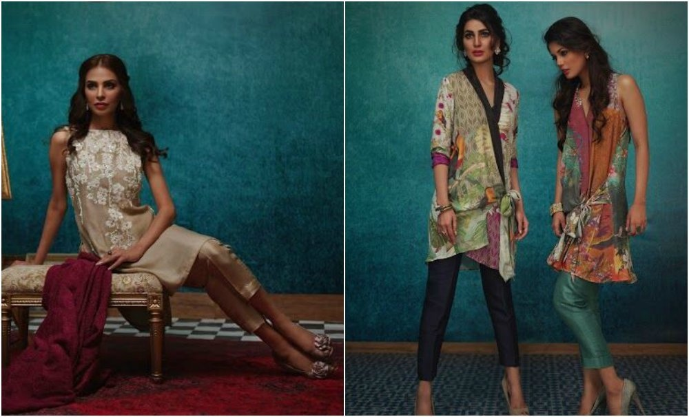 Nida's design aesthetic is diverse and the Eid collections convey that well —Courtesy photographs
