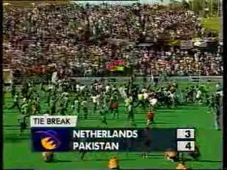Pakistan, hockey world champions again (1994).