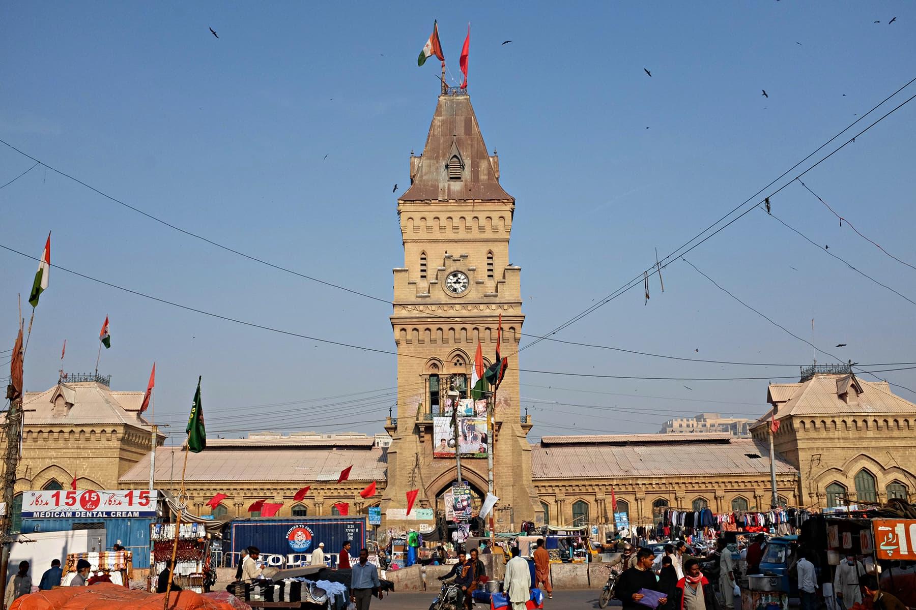 Empress Market – In all its majesty.