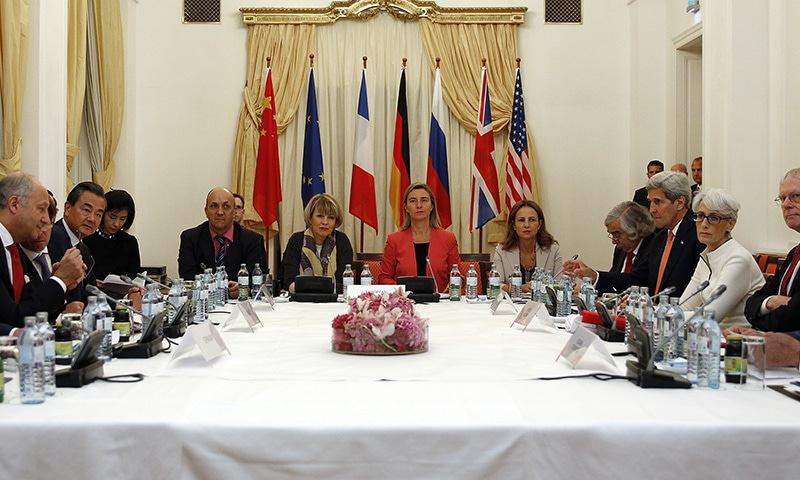 Negotiators at the Iran nuclear talks plan to announce Monday that they've reached a historic deal capping nearly a decade of diplomacy that would curb the country's atomic program in return for sanctions relief, two diplomats told The Associated Press on Sunday.— AP/file