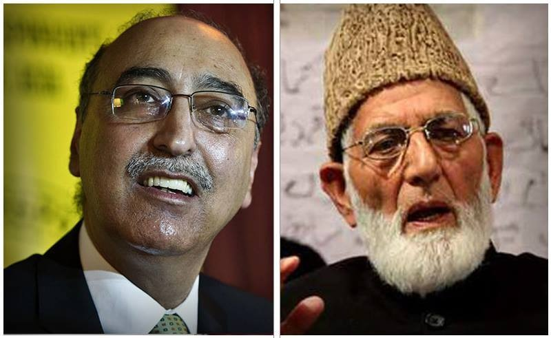 Geelani rejects invitation on grounds that the Kashmir issue was ignored during Nawaz, Modi meeting. —File photo