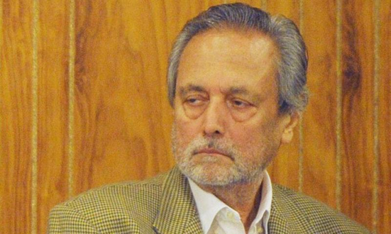 Over the past few months the PTI chief and Justice Wajihuddin Ahmad had engaged in a war of words, with both challenging each other's authority within the constitution of the party. —AFP/File