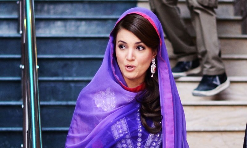"Reham Khan took to Twitter to respond to these claims and said that she never ""never picked up the Daily Mail"", implying their lack of credibility. —Photo by Belal Khan/File"