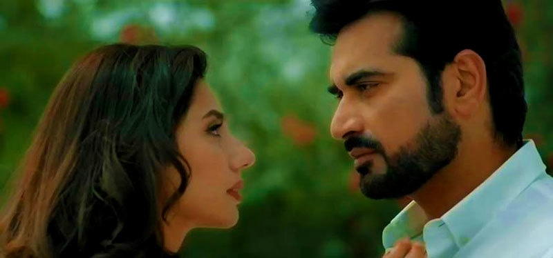 Humayun Saeed and Mahira Khan in Bin Roye. — Photo courtesy: Bin Roye's Facebook page