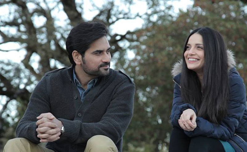 Armeena Rana Khan and Humayun Saeed in 'Bin Roye'. — Photo courtesy: Bin Roye's Facebook page