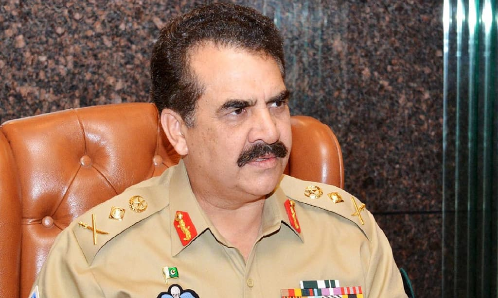 The army chief said military operation will not stop until the last terrorist is eliminated from the soil of Pakistan. —Online/File