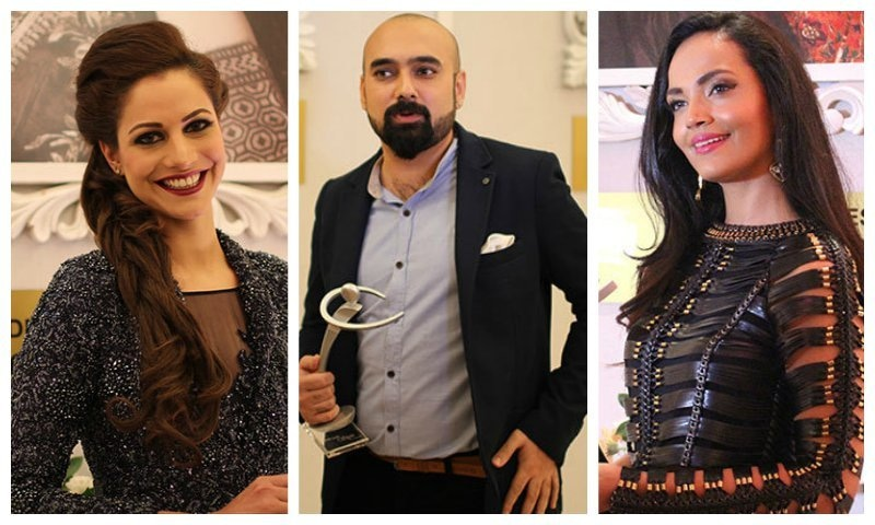 Last year's victors, Cybil Chaodhry, Yasir Jaswal and Aaminah Sheikh - who will pick up the coveted awards this year? — Publicity photos