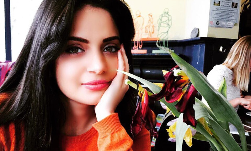 Armeena Rana Khan is set to be Pakistani cinema's newest darling — Photo courtesy Armeena Rana Khan's Facebook page