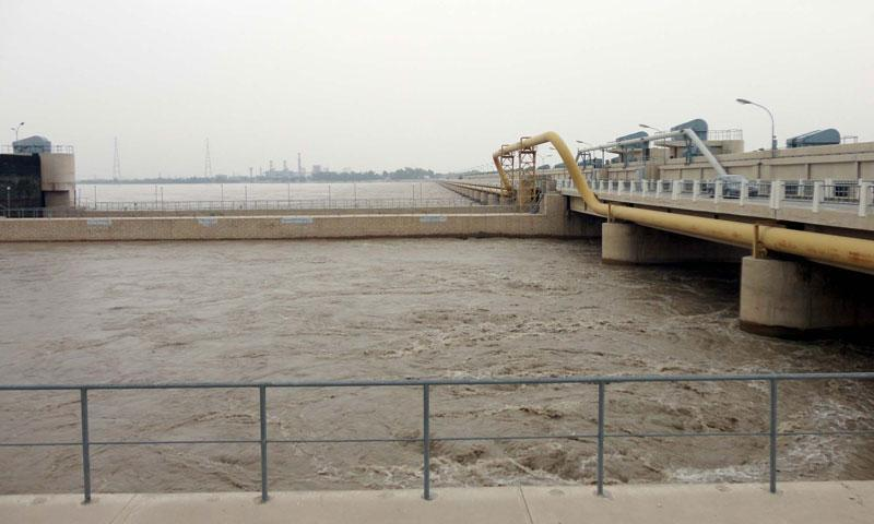 River Indus is in a state of low flood at Guddu and Sukkur barrages.   -PPI/File