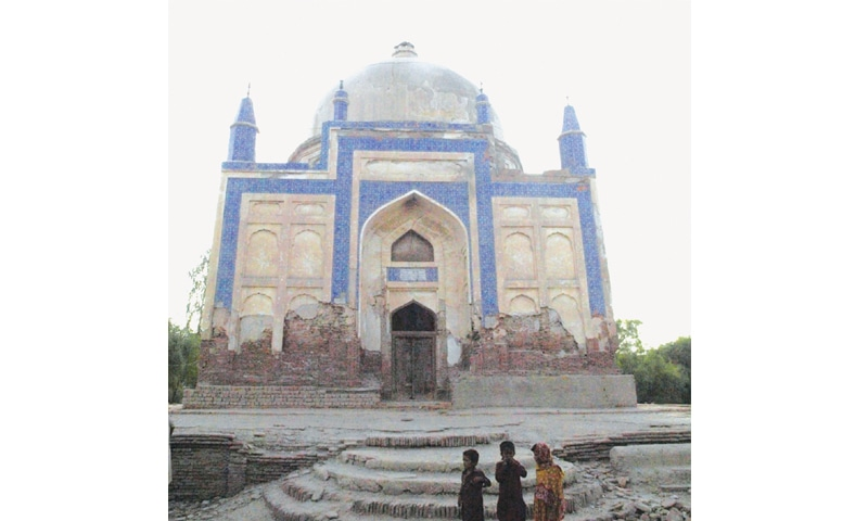 The Shah Baharo tomb.—Saeed Memon