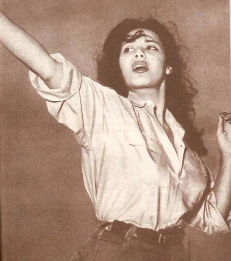 1962 poster of famous FLN activist, Jamila Bouhir.