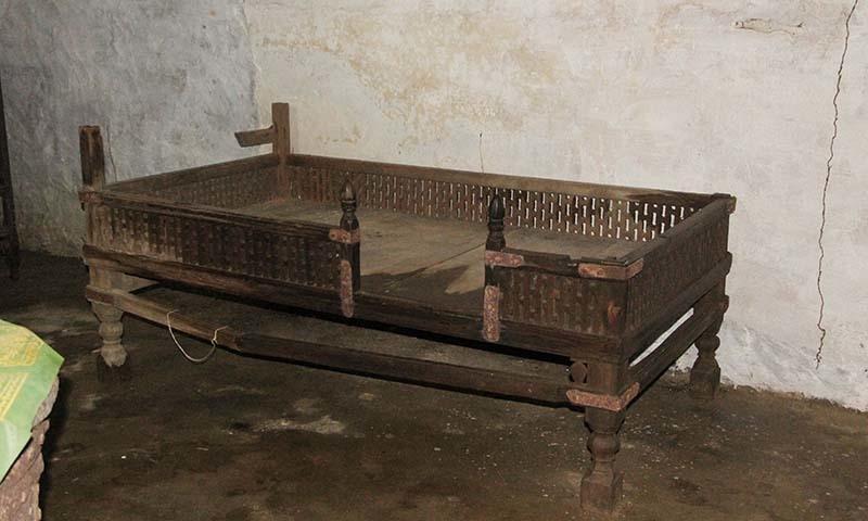 Personal belongings of Saidu Baba. — Dawn