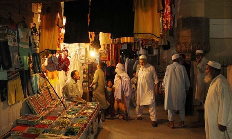 Saidu Baba Bazaar. — Dawn