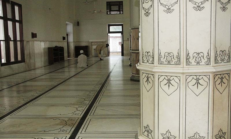 Inside of Saidu Baba mosque. — Dawn