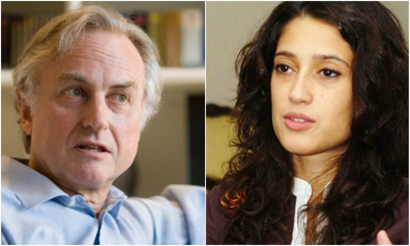 Isn't all that mansplaining awfully anti-feminist of Dawkins?