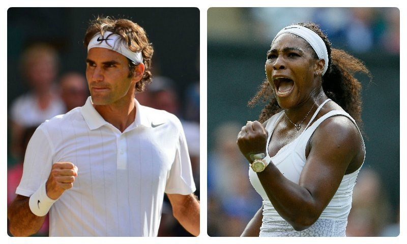 It's true that both Federer and Serena are extremely gifted but their prolonged success can be explained in less subjective terms. —Photo by AFP and AP