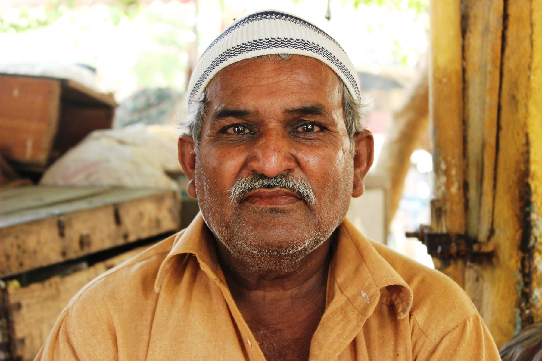 Imtiaz Khan, building owner.