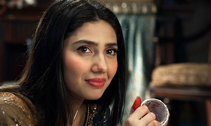 Mahira in a screen grab from Bin Roye.