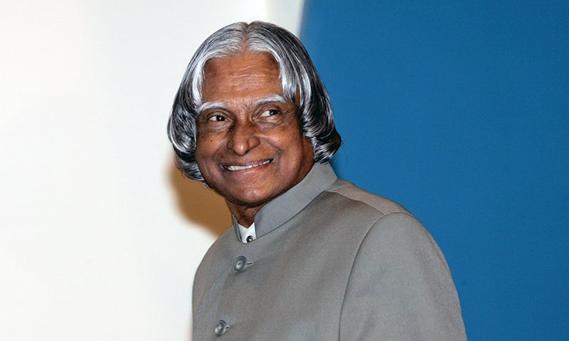 Former Indian president Abdul Kalam died at the age of 83. —AFP/File