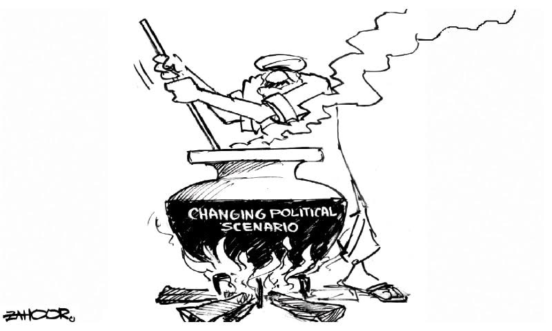 Which has been Pakistan's most significant political schism   Illustration courtesy dawn.com