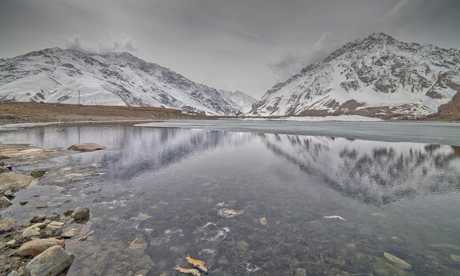 Winter in Gulaghmuli.