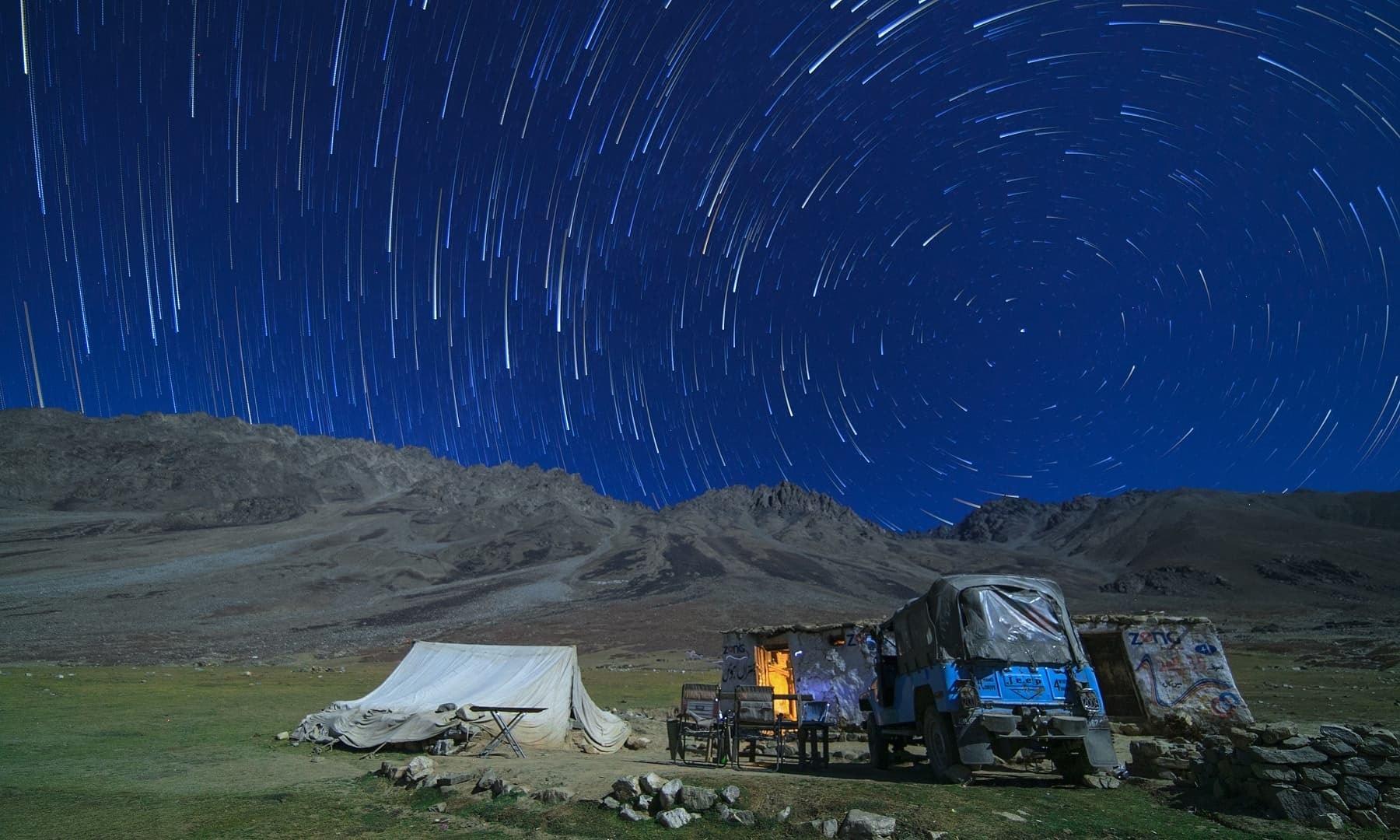 Night at Shandur.