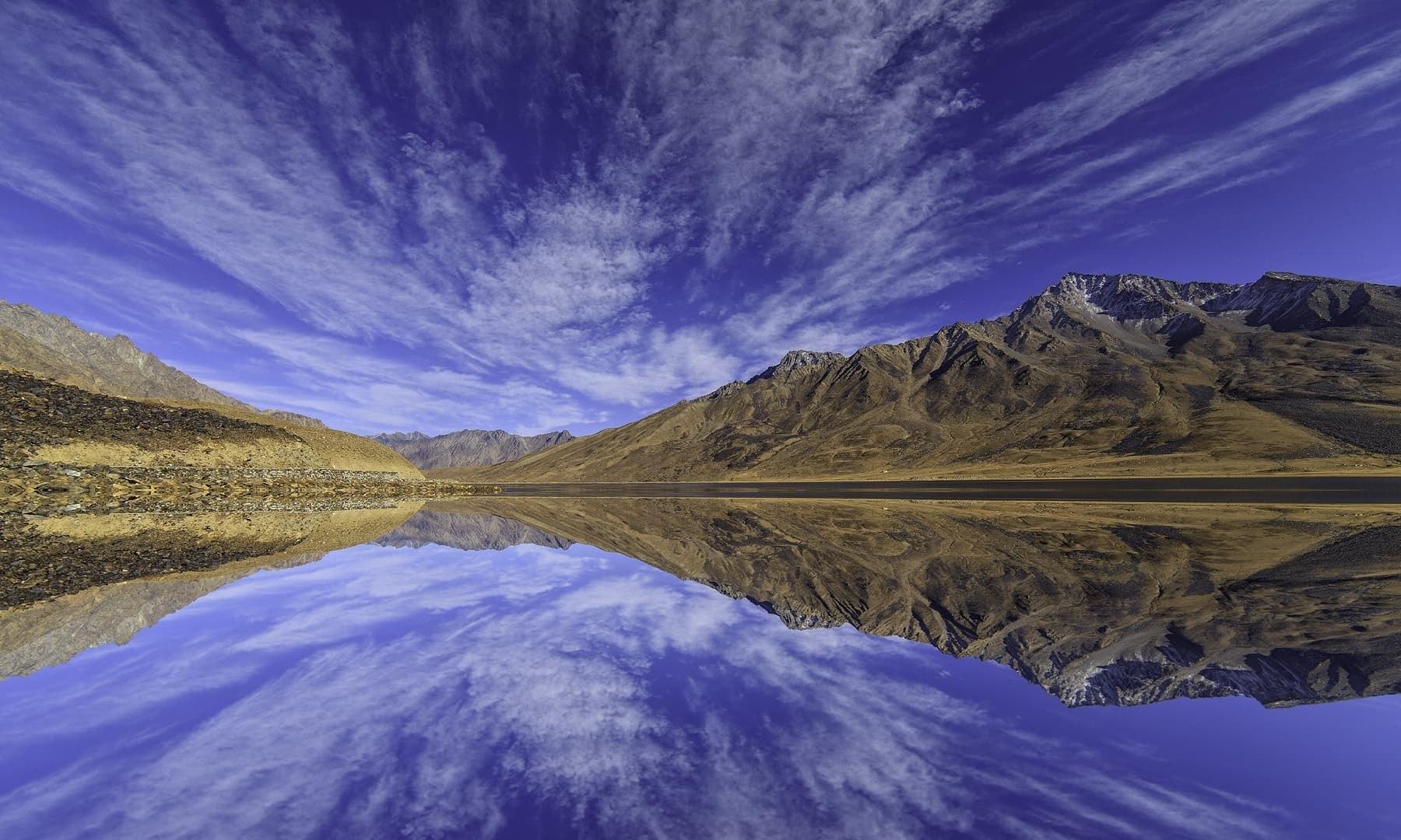 Shandur Lake.