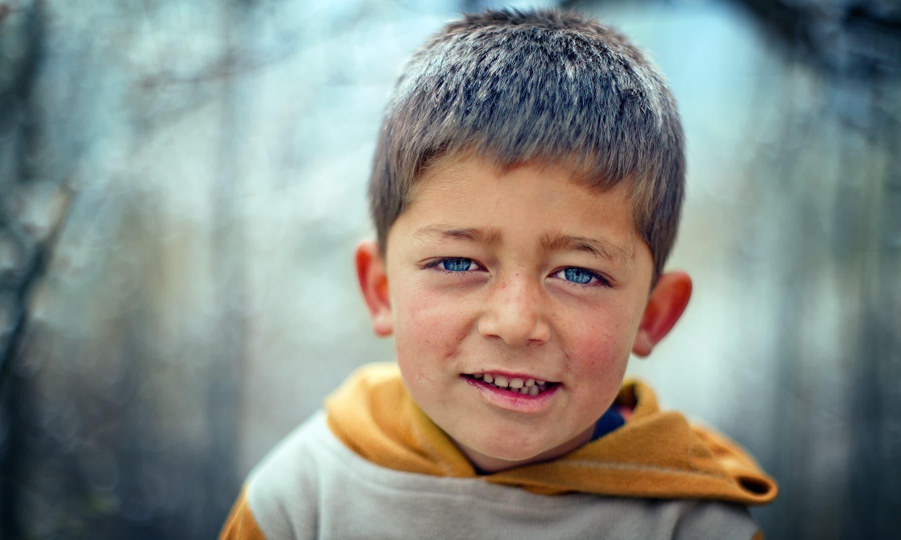 A boy from Bamburet.
