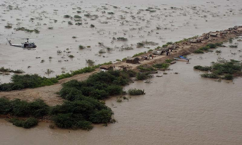 Experts say the intensity and frequency of flood in Pakistan will only increase. — Nadeem Khawer/File