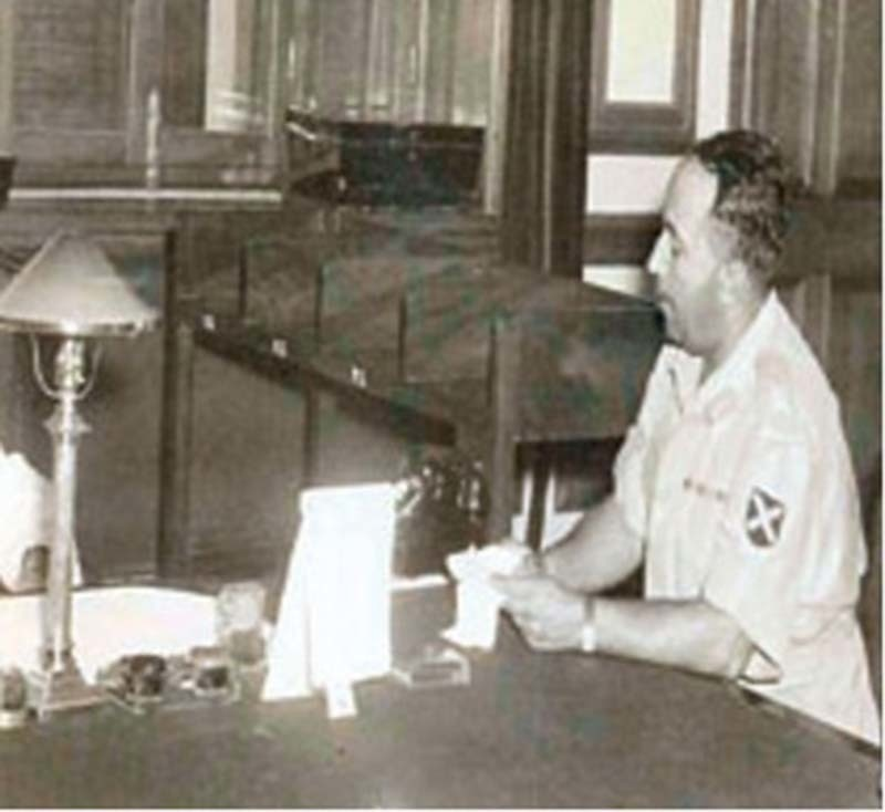 General Azam Khan in Lahore: He planned and oversaw the crushing of the 1953 anti-Ahmadiyya riots in the Punjab.
