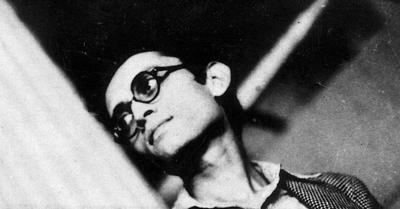 Controversial Urdu short-story writer, Sadat Hassanh Manto in Lahore.