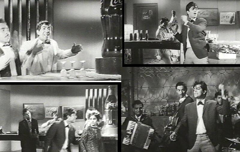 Scenes from the famous Urdu film, Arman (1966).