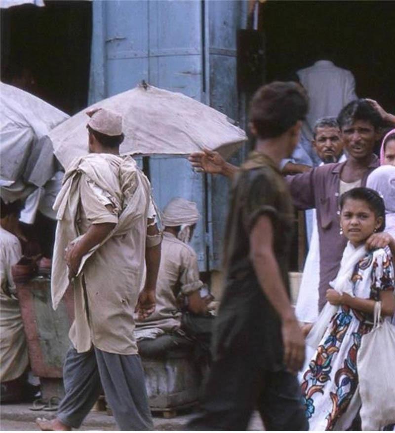 Karachi's largest working-class area Lyari in 1975.