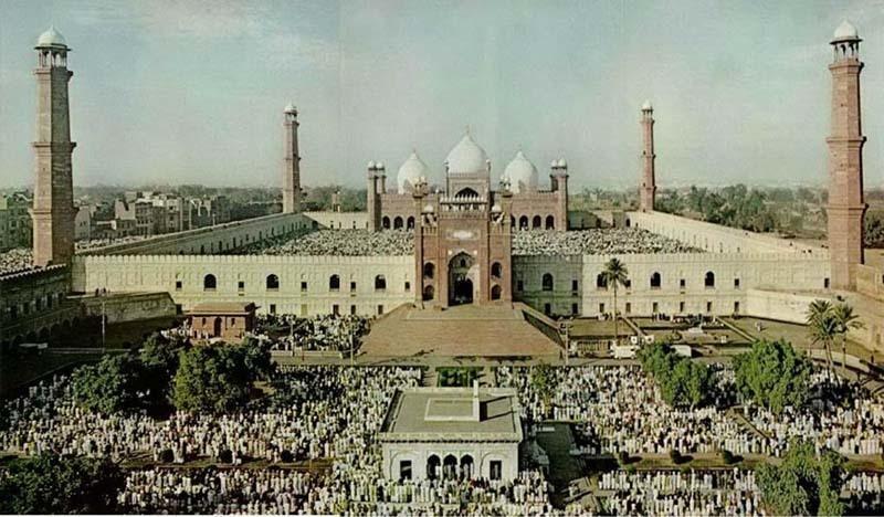 Eid prayers in Lahore (1974).