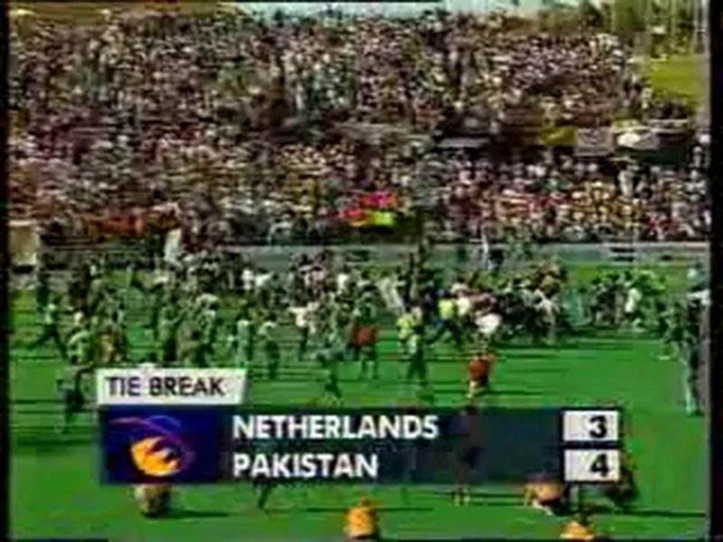 Pakistan wins the 1994 Hockey World Cup.