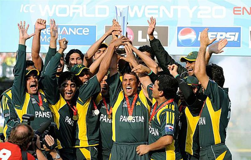 Pakistan win the 2009 Cricket T20 World Cup.