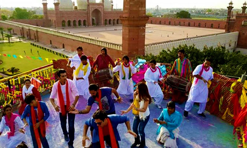 Dancing in Lahore. — Photo courtesy: KSL's Facebook page