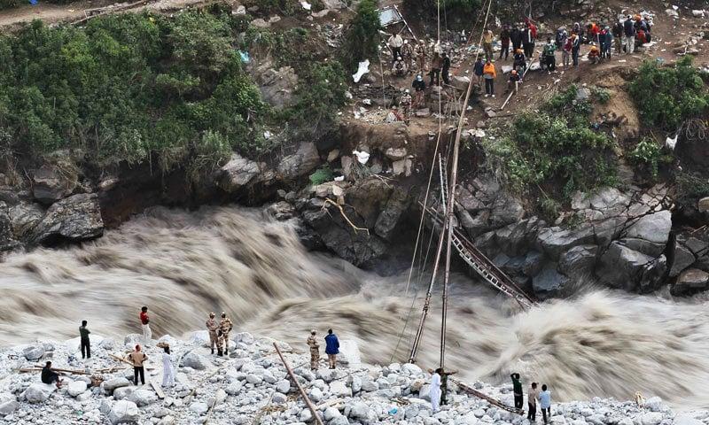 جون 2015ء میں چترال میں آنے والا سیلاب—سید حریر شاہ