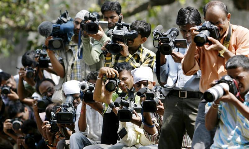 """""""There has been blatant manipulation of media in the early 1990s with respect to Kashmir, but many journalists went ahead with fair and balanced reporting even then, sometimes at their own risk."""".— Reuters/file"""