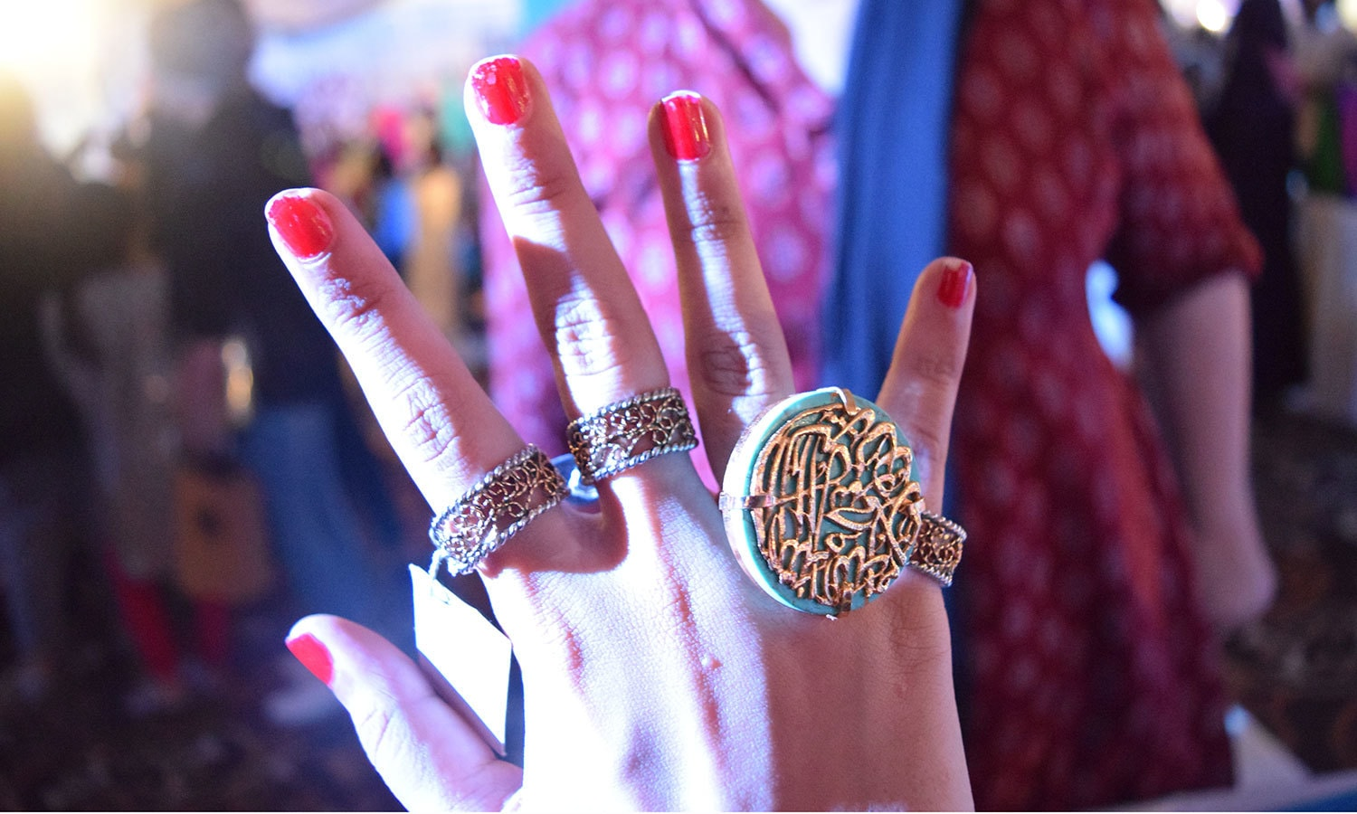Put a ring on it! — Photo by Zoya Anwer