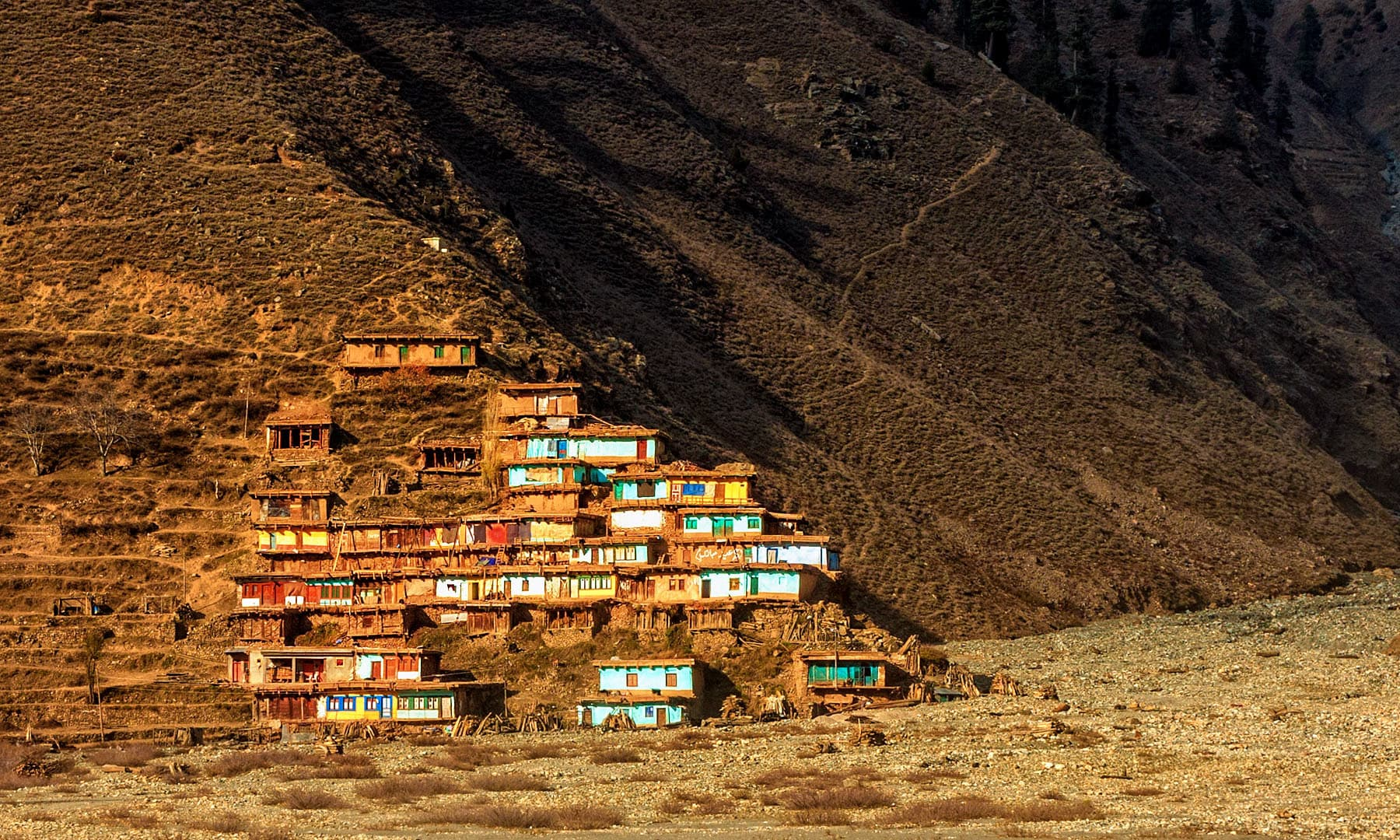 A village in Naran Valley.