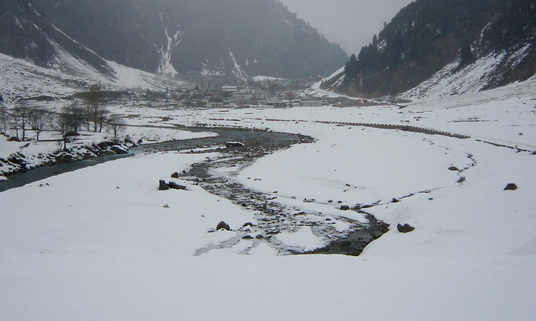 The Naran valley.