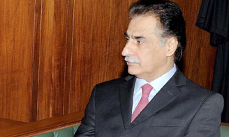 MQM leader promised to respond to the speaker's request after consulting his party.—Online/File