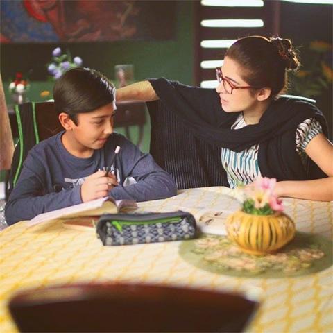 Aashir Wajahat and Ayesha Omar